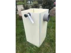 Čerpadlová šachta bílá (103x50x50xcm) - bazar
