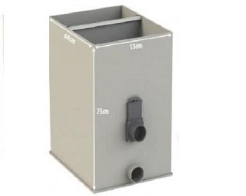 AquaForte UltraSieve Low L (štěrbinový filtr) - Filtry,filtrační sety a filtrační materiály Štěrbinové filtry, odstředivky
