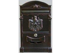 Poštovní schránka Jáchym-antická měď