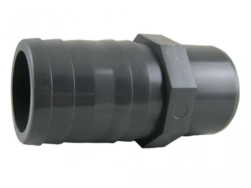 PVC hadicový trn 50x50mm - Stavba jezírka,hadice,trubky,fitinky Tvarovky,fitinky Hadicové trny