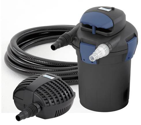 Oase BioPress Set 4000 (tl. filtr+UV+čerpadlo na 1m3) - Filtry, filtrační materiály Oase filtry