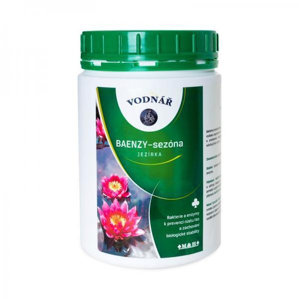 Vodnář BAENZY sezóna-pro odbourání organických látek,prevence (1kg na 50m3) - Péče o vodu Přípravky na prevenci