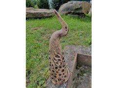 Svícen pták velký (keramika-ruční práce)