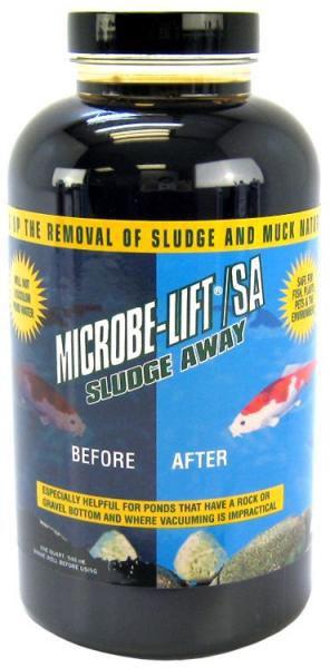 MICROBE LIFT-SLUDGE AWAY - odstraňuje bahno a kal (1l na 12,5m3) - Péče o vodu, údržba jezírek Přípravky na odstranění bahna