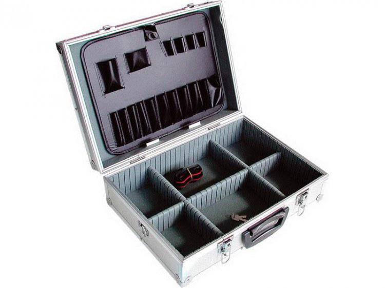 Kufr hliníkový 460x330x150mm - Nářadí a příslušenství Boxy, kufry, skříňky na nářadí