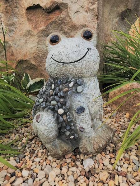 Žába velká MG design kamínky (keramika) - Zahradní a vodní doplňky Dekorace
