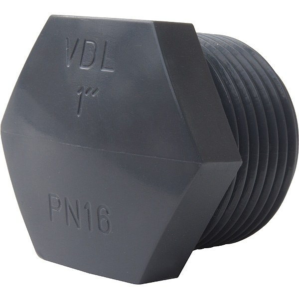 "PVC zátka 1"" ext. - Stavba jezírka,hadice,trubky,fitinky Tvarovky,fitinky Zátky"