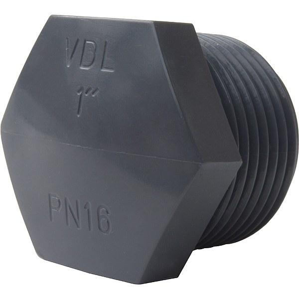 "PVC zátka 1/2"" ext. - Stavba jezírka,hadice,trubky,fitinky Tvarovky,fitinky Zátky"