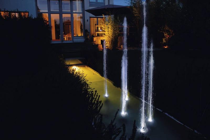 Oase Water Quintet Creative (kreativní fontána) - Osvětlení, elektro k jezírku Vodní hry s osvětlením