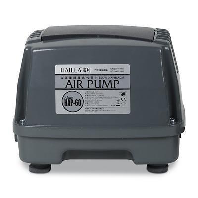 Hailea HAP-60 (membránový vzduchovací kompresor) - Vzduchování a topítka do jezírka Vzduchovací kompresory