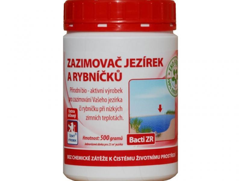 Baktoma Bacti ZR - zazimovač jezírek a rybníčků (500g na 25m2) - Péče o vodu, údržba jezírek Sezónní bakterie