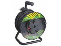 Kabel prodlužovací 25m guma buben 4Z