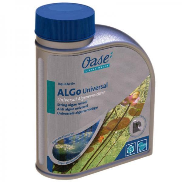 Oase AquaActiv AlGo Universal - proti více druhům řas (500ml na 10m3) - Péče o vodu, údržba jezírek Odstranění vláknité řasy