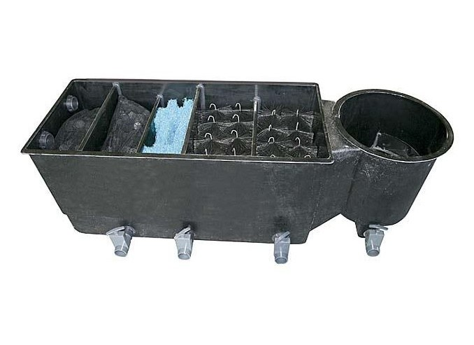 Tripond ECO 3komorový filtr (na 8m3) s médii NEW - Filtry,filtrační sety a filtrační materiály Tripond komorové filtry