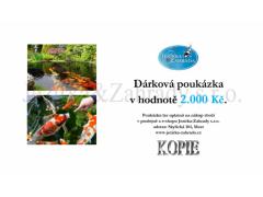 Dárková poukázka 2000 Kč