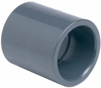 PVC mufna 40mm - Stavba jezírka,hadice,trubky,fitinky Tvarovky,fitinky Mufny