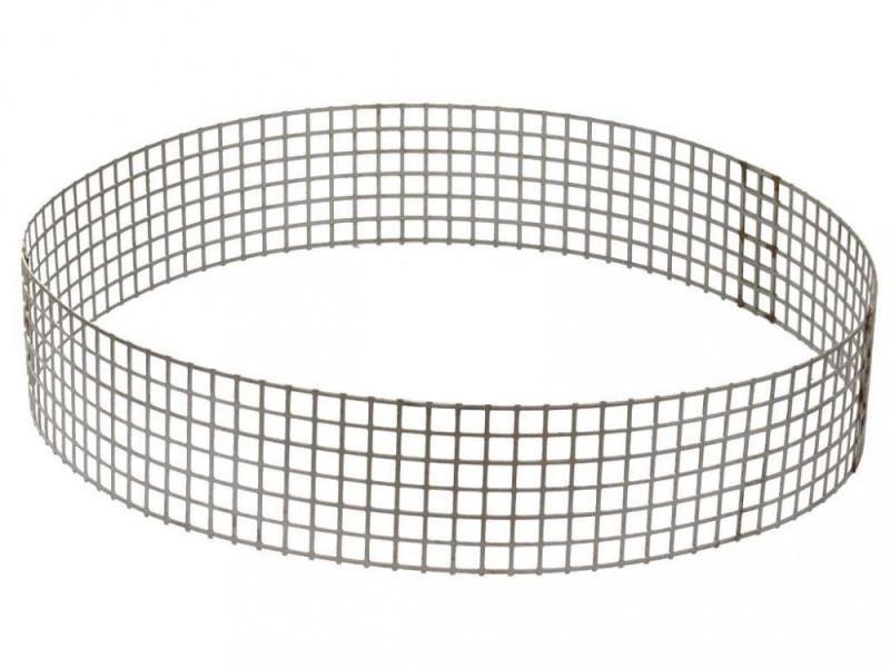 Ochranný nerezový prstenec na gulu-spodní vpusť - Stavba jezírka,hadice,trubky,fitinky Gule-dnová vpusť,příruby