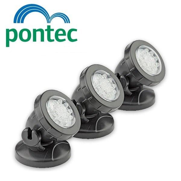 Pontec PondoStar LED Set 3 (jezírkové LED osvětlení) - Osvětlení, elektro u jezírka Osvětlení jezírka