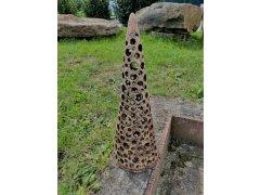 Svícen jehlan velký (keramika-ruční práce)