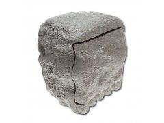 Zahradní zásuvka (dvojnásobná + časovač v imitaci kamene)