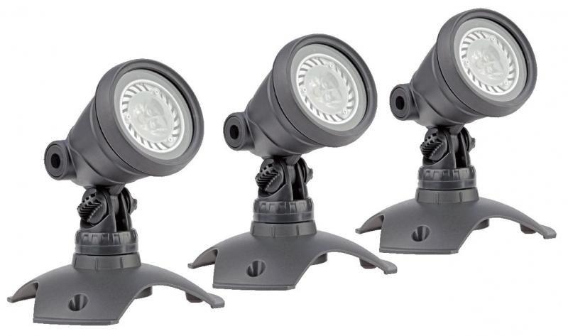 Oase LunAqua 3 LED Set 3 (jezírkové LED osvětlení) - Osvětlení, elektro u jezírka Osvětlení jezírka