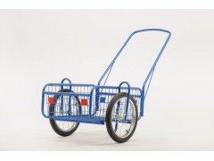 """Vozík dvoukolový PROGRES MSG 16"""" modrý"""