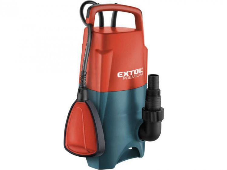 Extol Premium čerpadlo kalové ponorné (400W, 8000 l) - Čerpadla, čerpadlové šachty Drenážní a užitková čerpadla