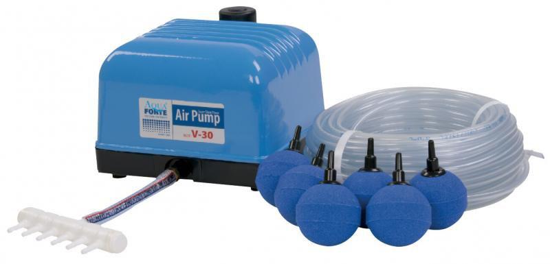 AquaForte/Hailea V-30 (membránový vzduchovací set) - Vzduchování, kompresory Vzduchování,kompresory