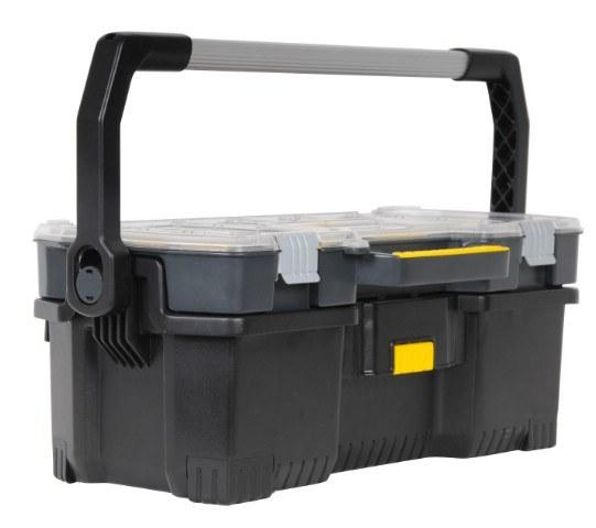 STANLEY 1-97-514 přepravka dílenská s vrchním organizerem - Nářadí a příslušenství Boxy, kufry, skříňky na nářadí