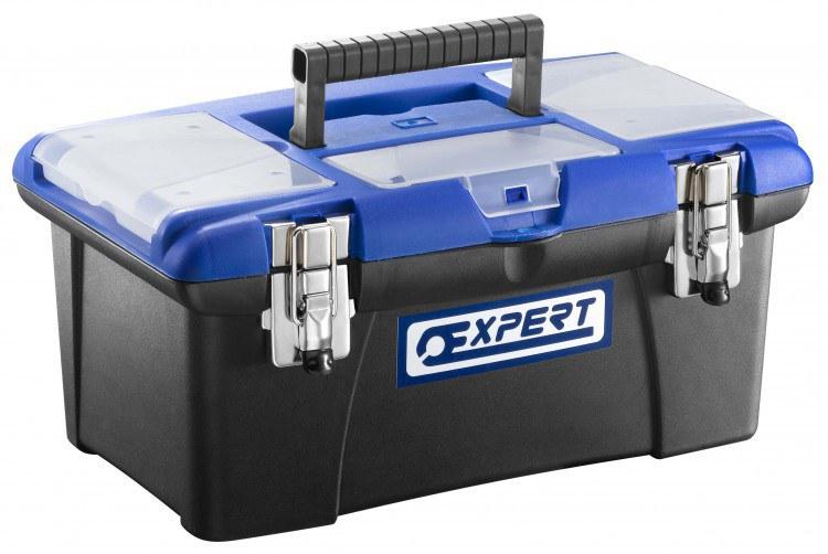 """Box plastový na nářadí 16"""" - Nářadí a příslušenství Boxy, kufry, skříňky na nářadí"""
