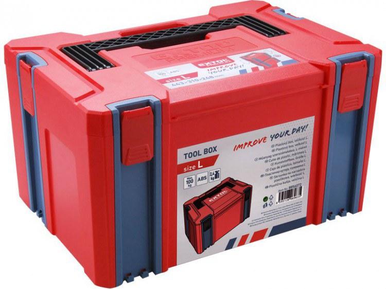 Extol Premium box plastový na nářadí (vel. L) - Nářadí a příslušenství Boxy, kufry, skříňky na nářadí