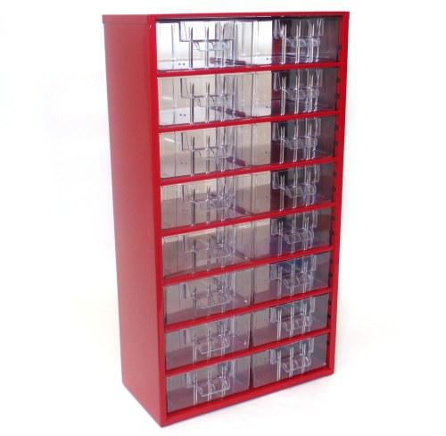 Skříňka 16 x B červená - Nářadí a příslušenství Boxy, kufry, skříňky na nářadí
