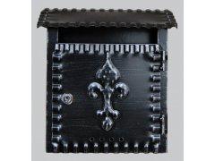 Schránka poštovní ROMAN černá