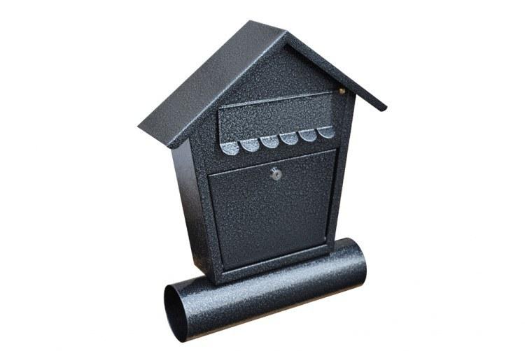 Schránka poštovní RD-1T stříbrný antik - Potřeby pro domácnost Schránky, pokladny, skříňky