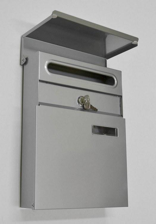 Schránka poštovní ELEGANCE MINI-šedá - Potřeby pro domácnost Schránky, pokladny, skříňky