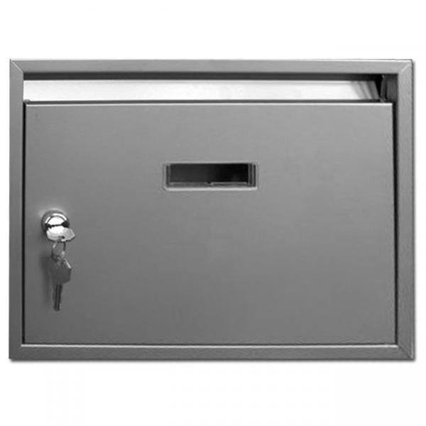 Schránka poštovní PAVEL nerez - Potřeby pro domácnost Schránky, pokladny, skříňky