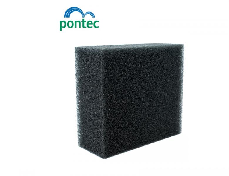 Pontec MultiClear Set 15000 (náhradní černá pěnovka) - 1ks - Filtry,filtrační sety a filtrační materiály Filtrační materiály