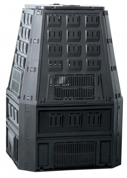 Komposter 800 l, černý - Potřeby na zahradu Nádoby