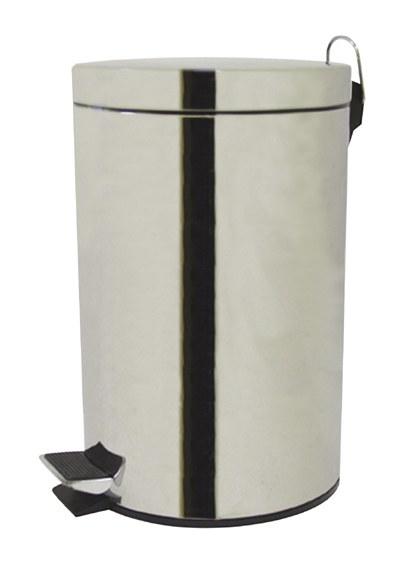 Koš odpadkový 20 l výklopný nerez - Potřeby pro domácnost Doplňky a pomůcky