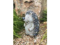 Ježek velký MG design kamínky (keramika)