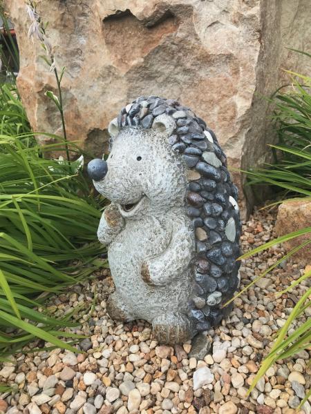 Ježek velký MG design kamínky (keramika) - Zahradní a vodní doplňky Dekorace