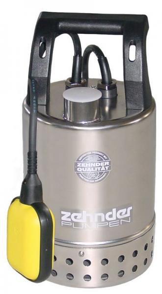 Zehnder Pumpen E-ZW 50 A-2-kalové ponorné čerpadlo-nerezové - Čerpadla, čerpadlové šachty Čerpadla Zehnder Pumpen Kalová čerpadla