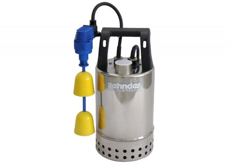 Zehnder Pumpen E-ZW 50KS-2-kalové ponorné čerpadlo-nerezové - Čerpadla, čerpadlové šachty Čerpadla Zehnder Pumpen Kalová čerpadla