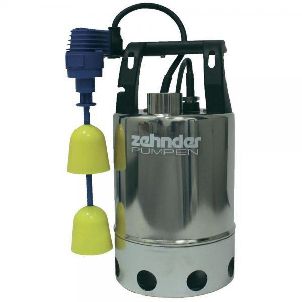 Zehnder Pumpen E-ZW 80 KS-kalové ponorné čerpadlo-nerezové - Čerpadla, čerpadlové šachty Čerpadla Zehnder Pumpen Kalová čerpadla
