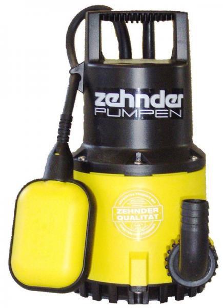 Zehnder Pumpen S-ZPK 30 A-kalové ponorné čerpadlo-plastové - Čerpadla, čerpadlové šachty Čerpadla Zehnder Pumpen Kalová čerpadla