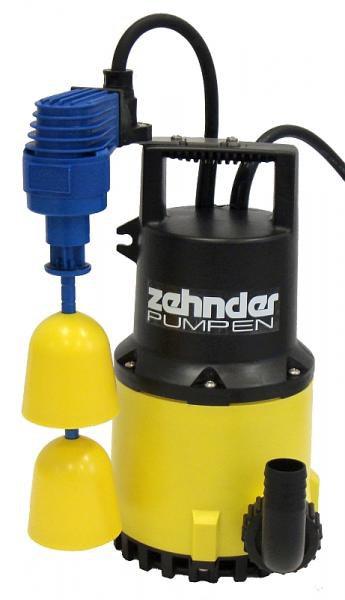 Zehnder Pumpen S-ZPK 30 KS-kalové ponorné čerpadlo-plastové - Čerpadla, čerpadlové šachty Čerpadla Zehnder Pumpen Kalová čerpadla