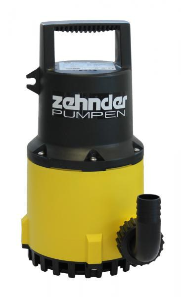 Zehnder Pumpen S-ZPK 35-kalové ponorné čerpadlo-plastové - Čerpadla, čerpadlové šachty Čerpadla Zehnder Pumpen Kalová čerpadla