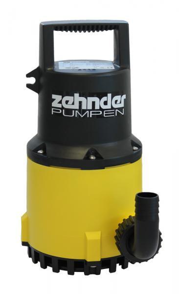 Zehnder Pumpen S-ZPK 40-kalové ponorné čerpadlo-plastové - Čerpadla, čerpadlové šachty Čerpadla Zehnder Pumpen Kalová čerpadla