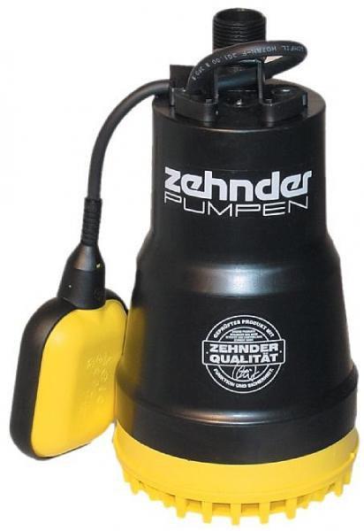 Zehnder Pumpen ZM 280 A-kalové ponorné čerpadlo-plastové - Čerpadla, čerpadlové šachty Čerpadla Zehnder Pumpen Kalová čerpadla
