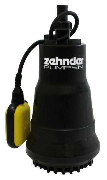 Zehnder Pumpen ZM 650 A-kalové ponorné čerpadlo-plastové - Čerpadla, čerpadlové šachty Čerpadla Zehnder Pumpen Kalová čerpadla